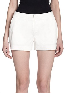 Joie Leiden Stretch-Cotton Shorts