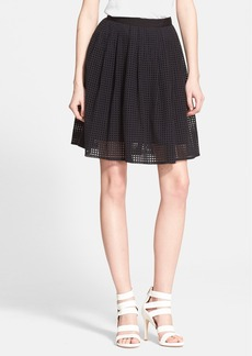 Joie 'Lissome' Eyelet A-Line Skirt