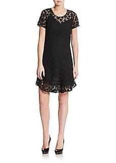 Joie Lola Cotton Lace Dress