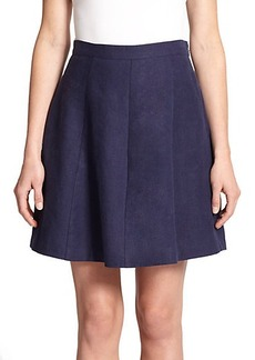 Joie Loudivine Pleated Linen Skirt