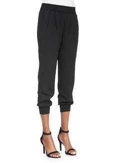 Joie Mariner Knit Cropped-Leg Pants