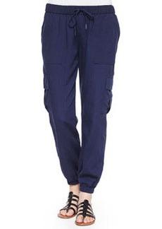 Joie Markell Cargo-Pocket Jogger Pants