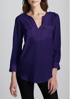 Joie Marlo Sleeveless Silk Top