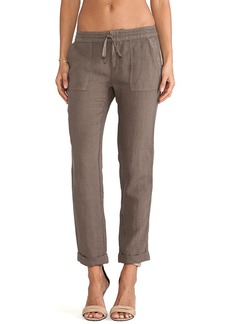 Joie Martesha Linen Pant in Army