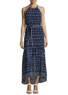 Joie Maryanna Sleeveless Silk Midi Dress, Dark Navy