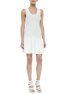 Joie Maudette Dropped-Waist Knit Dress