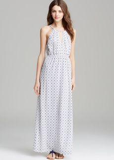 Joie Maxi Dress - Amaretta Floral Tile Geo Print