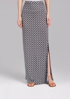 Joie Maxi Skirt - Tracey Shibori Tile Print
