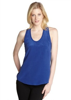 Joie medium blue 'Alicia' silk tank
