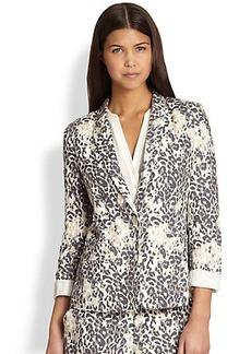 Joie Mehira Leopard-Print Blazer