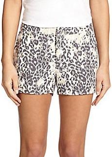 Joie Merci Leopard-Print Shorts