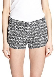 Joie Merci Linen-Silk Shorts