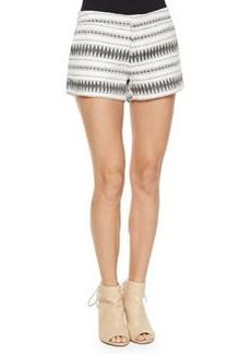 Joie Merci Low-Rise Multi-Print Shorts
