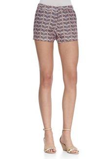 Joie Merci Printed Flax Shorts