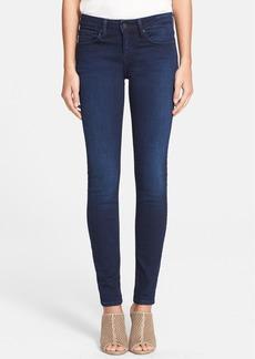 Joie Mid Rise Skinny Jeans (Blue Slate)