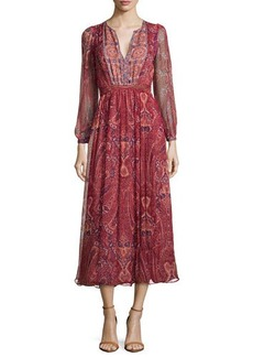 Joie Minerala B Paisley-Print Dress  Minerala B Paisley-Print Dress