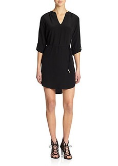 Joie Motega Silk Shirt Dress