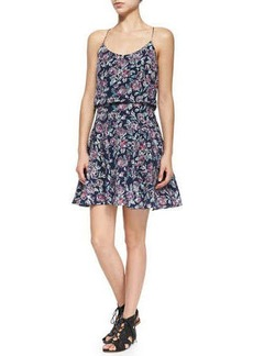 Joie Nanon Floral-Print Sleeveless Dress