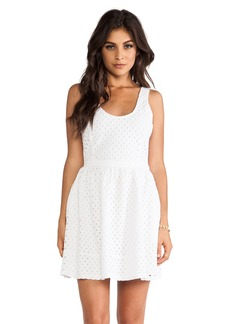 Joie Natrina Diamond Eyelent Dress