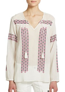 Joie Nira Embroidered Tunic