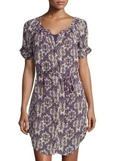 Joie Onalee Butterfly-Print Dress