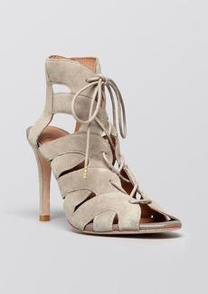 Joie Open Toe Lace Up Sandals - Bonnie High Heel