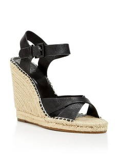Joie Open Toe Platform Espadrille Wedge Sandals - Lena