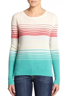 Joie Orfilia Striped Cashmere Sweater