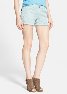 Joie 'Painter' Frayed Cotton Shorts