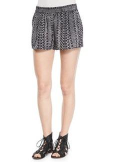 Joie Percier Snake Ikat-Print Shorts (Stylist Pick!)