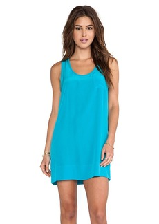 Joie Peri B Mini Dress in Teal