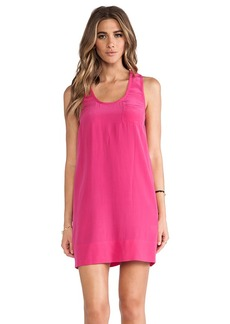 Joie Peri B Tank Dress in Fuchsia
