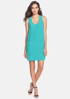 Joie 'Peri B' U-Neck Racerback Silk Dress