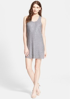 Joie 'Peri F' Embellished Silk Tank Dress