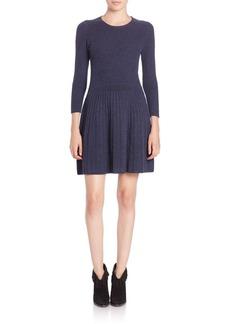 Joie Peronne Knit Fit-&-Flare Dress