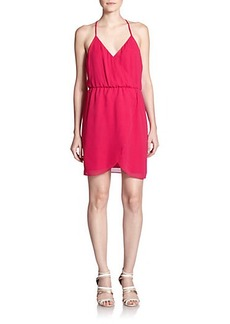 Joie Perrine Crepe T-Back Dress