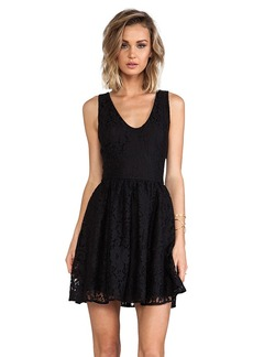 Joie Phelia Lace Dress in Black
