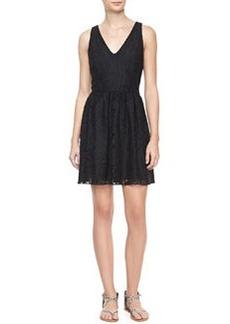 Joie Phelia Sleeveless Lace Dress