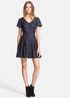 Joie 'Raley' Plaid Fit & Flare Dress