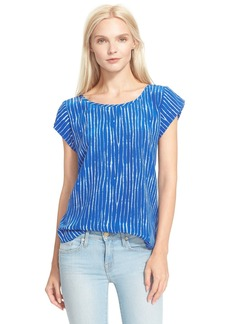 Joie 'Rancher B' Print Silk Top