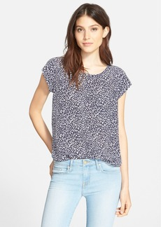 Joie 'Rancher' Print Silk Top