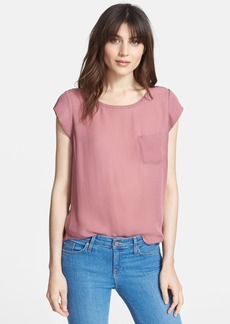Joie 'Rancher' Silk Pocket Top