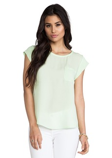 Joie Rancher Silk Top in Green