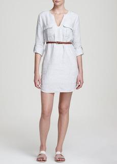 Joie Rathana C Linen Shirt Dress
