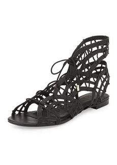 Joie Renee Lace-Up Gladiator Sandal, Black