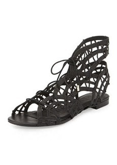 Joie Renee Lace-Up Gladiator Sandal, Black