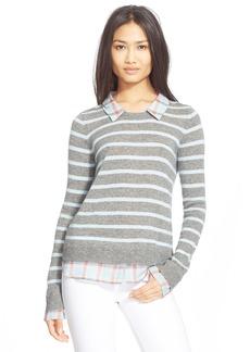 Joie 'Rica F' Stripe Cashmere Sweater