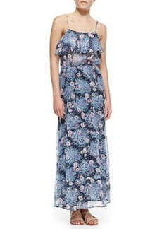 Joie Rominette Floral-Print Silk Maxi Dress