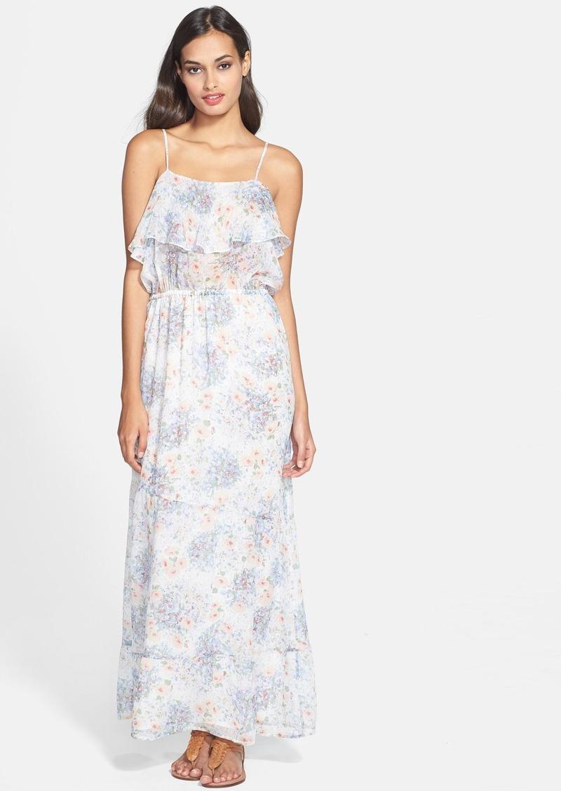 Joie 'Rominette' Print Silk Maxi Dress