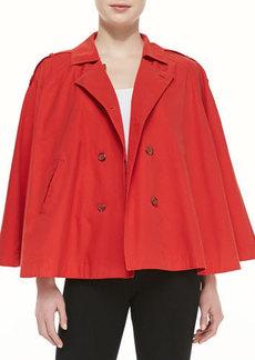 Joie Rosamonde Twill Jacket, Dark Spicy Orange